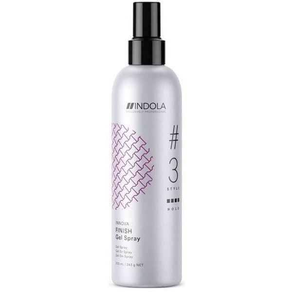 Гель Indola Professional Innova Finish Gel Spray 300 мл спрей schwarzkopf professional 1 light control sparkler finish 300 мл