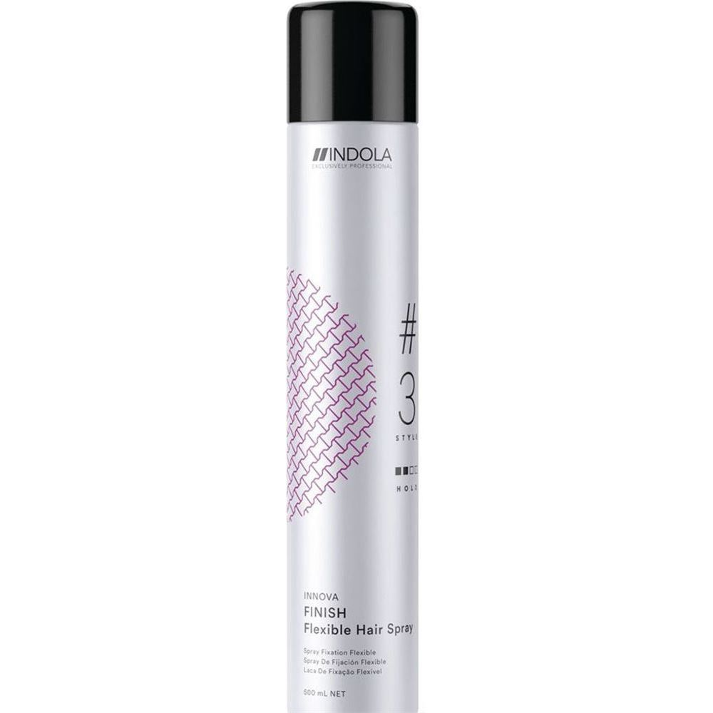 Лак Indola Professional Innova Finish Flexible Hair Spray 500 мл лаки для ногтей professional edition лак для ногтей professional edition classics 16 мл 10
