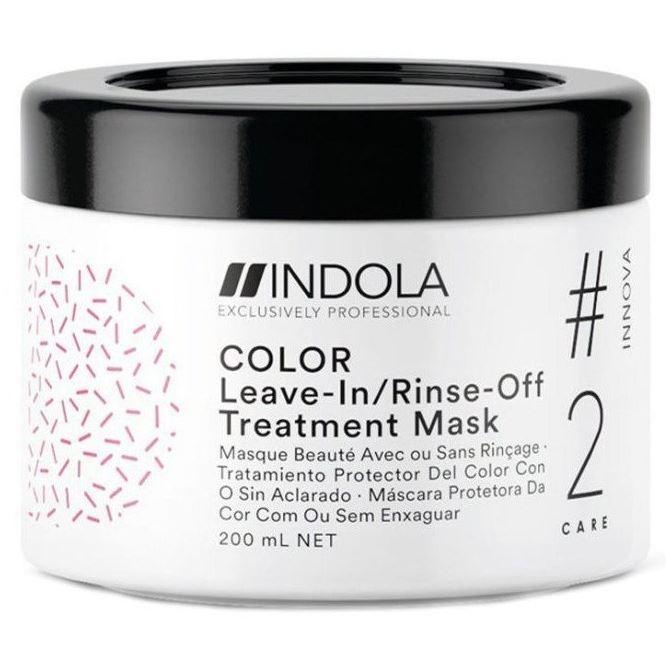 Маска Indola Professional Innova Color Leave-In/Rinse-Off Treatment 200 мл kerastase молочко для окрашенных волос хрома каптив kerastase reflection chroma captive e0848901 200 мл