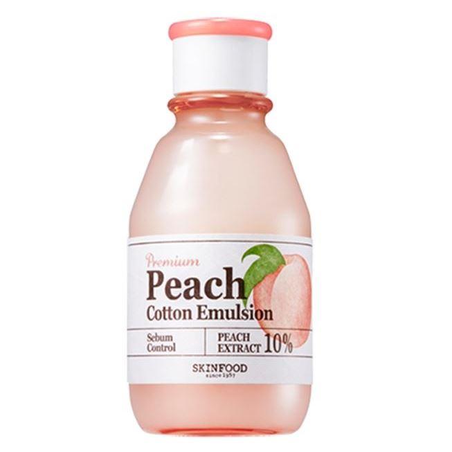 Эмульсия SkinFood Premium Peach Cotton Emulsion 140 мл крем skinfood premium lettuce