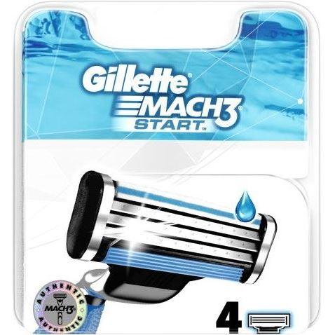 Кассеты Gillette Mach3 Start - 4 Сменных Кассеты (4 шт) недорого