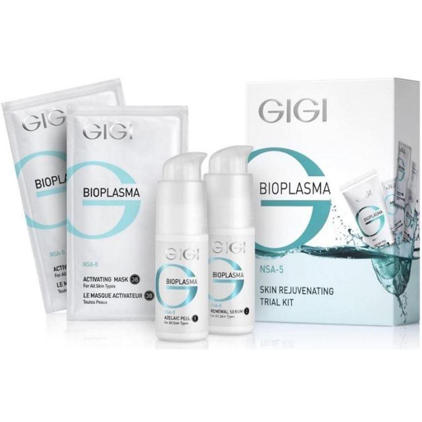 Набор GiGi NSA-5 Skin Rejuvenating Trial Kit (Набор: пилинг, 30 мл + сыворотка, 30 мл + маска, 4 х 20 г) christina rejuvenating