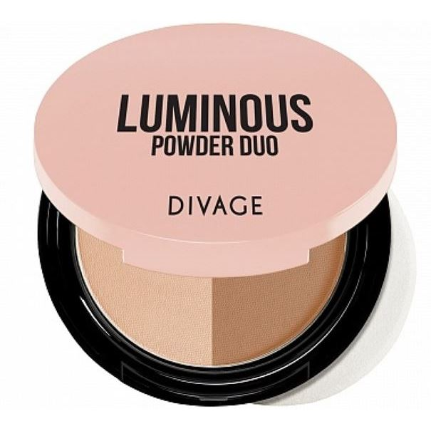 Пудра Divage Luminous Powder Duo (02) пудра