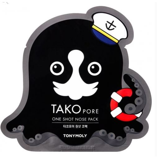 Маска Tony Moly Tako Pore One Shot Nose (1 шт) tako lumi lum