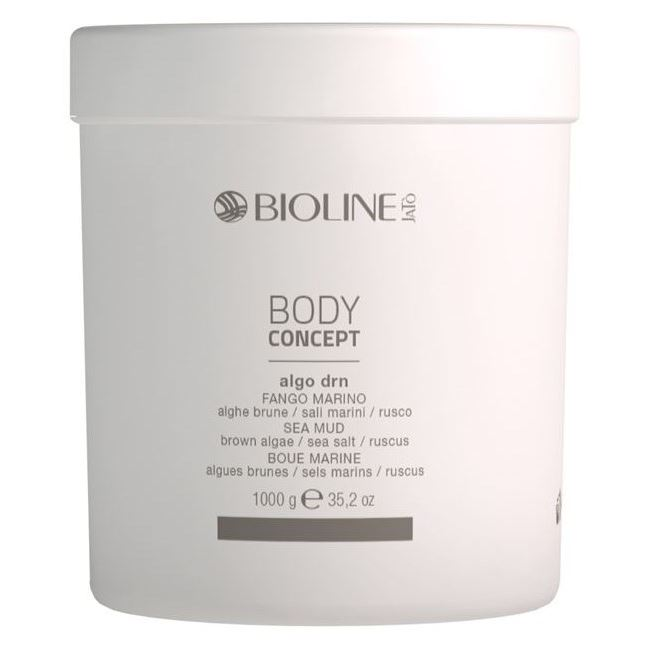 Маска Bioline JaTo Body Concept Algo Drn Sea Mud (1000 г) скрабы и пилинги ahava deadsea mud natural dead sea mud объем 400 г