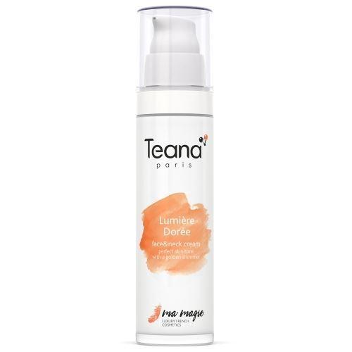 Крем Teana Lumiere Doree Face & Neck Cream 50 мл parure de lumiere тональный крем 03