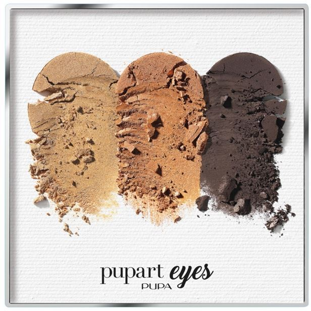 Палетки Pupa PupArt Eyes (012) too faced boudoir eyes палетка теней boudoir eyes палетка теней