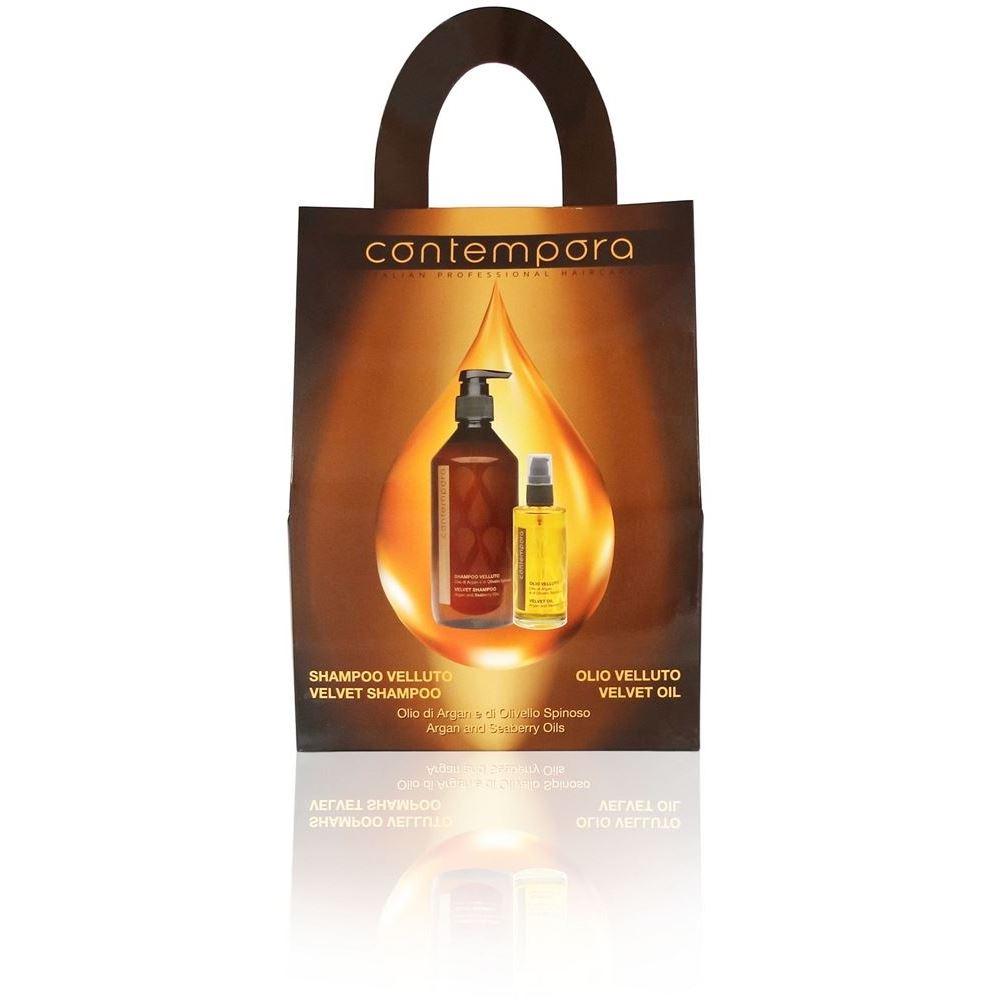 Набор Barex Contempora Set (Набор: шампунь, 500 мл + масло, 75 мл) barex 500