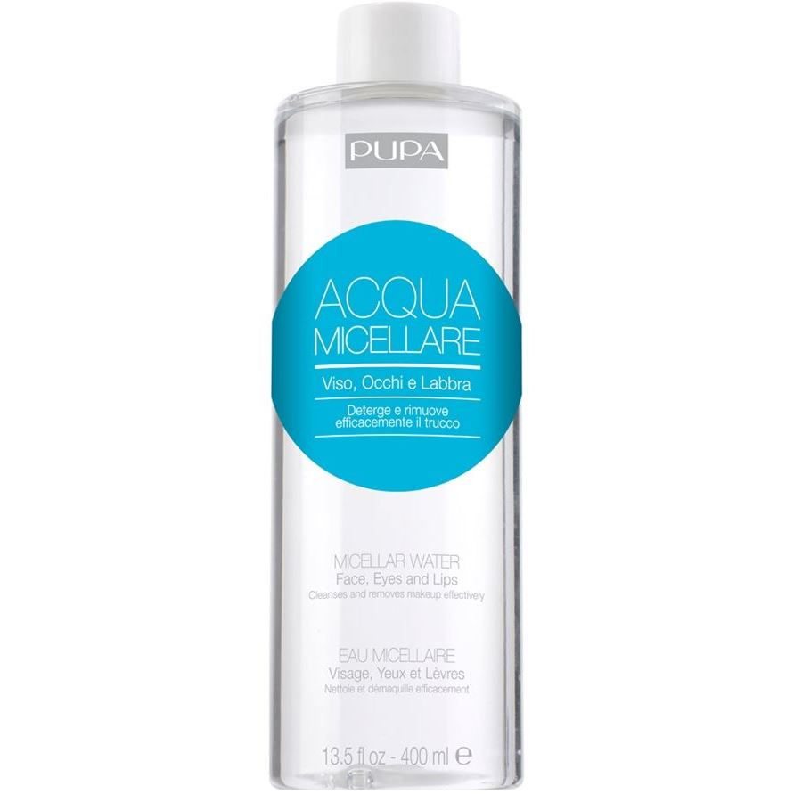Вода Pupa Micellar Water 400 мл phytomer вода мицеллярная micellar water eye makeup removal solution 150мл
