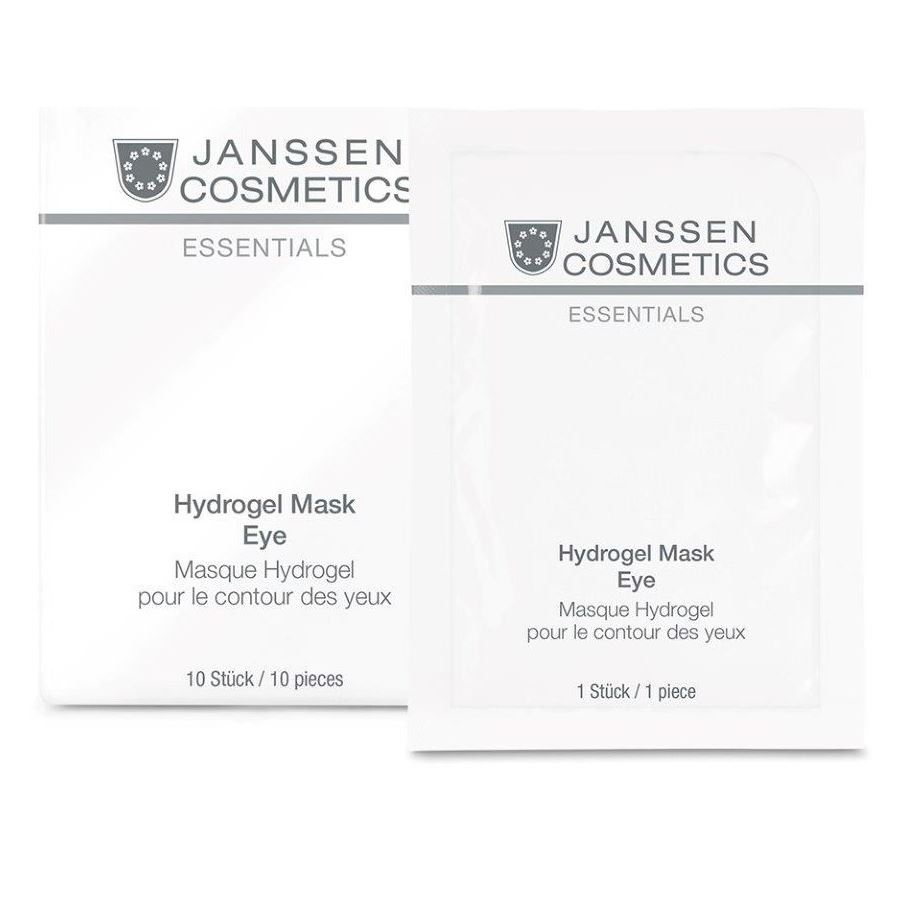 Маска Janssen Cosmetics Hydrogel Mask Eye (1 упаковка) beauugreen патчи гидрогелевые для глаз с экстрактом морского огурца и пудрой черного жемчуга hydrogel sea cucumber