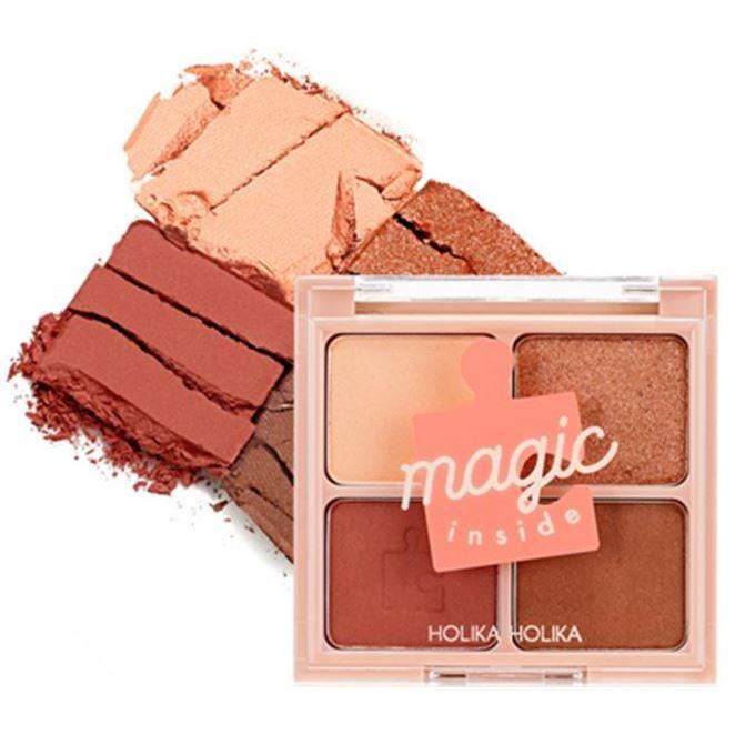 Палетки Holika Holika 17FW Piece Matching Shadow Palette (04 Orange Velvet) holika holika supercara mascara 04