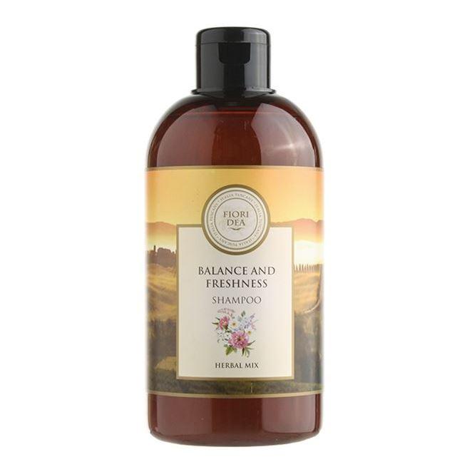 Шампунь Fiori Dea Balance And Freshness Shampoo 500 мл senscience senscience шампунь для нормальных волос shampoos and conditioners balance shampoo 42456 300 мл