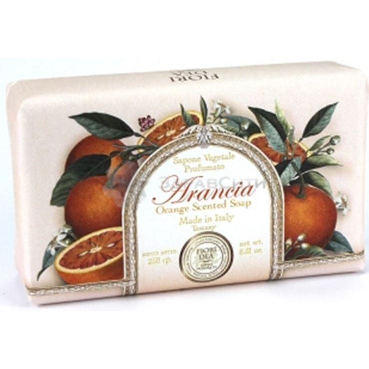 Мыло Fiori Dea Orange Scented Soap (250 г) sodasan body care soap liquid spicy orange жидкое мыло пряный апельсин 250 мл