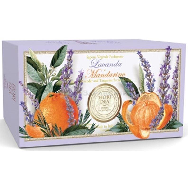 купить Мыло Fiori Dea Lavender And Tangerine Scented Soap (300 г) дешево