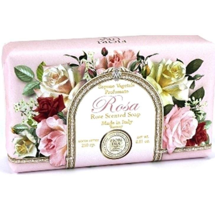 Мыло Fiori Dea Rose Scented Soap (250 г) fiori
