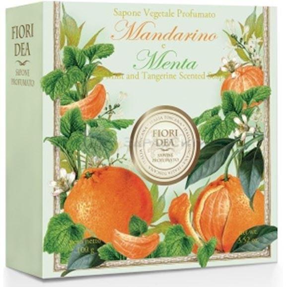 купить Мыло Fiori Dea Mint And Tangerine Scented Soap (100 г) дешево