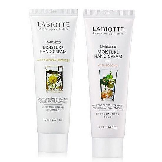 Крем Labiotte Marryeco Hand Cream  (Relaxing Hand Cream With Cornflower) labiotte marryeco relaxing hand cream with cornflower крем для рук с экстрактом василька 50 мл