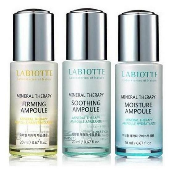 Эмульсия Labiotte Marryeco Mineral Therapy Ampoule (Moisture Ampoule) labiotte marryeco relaxing hand cream with cornflower крем для рук с экстрактом василька 50 мл