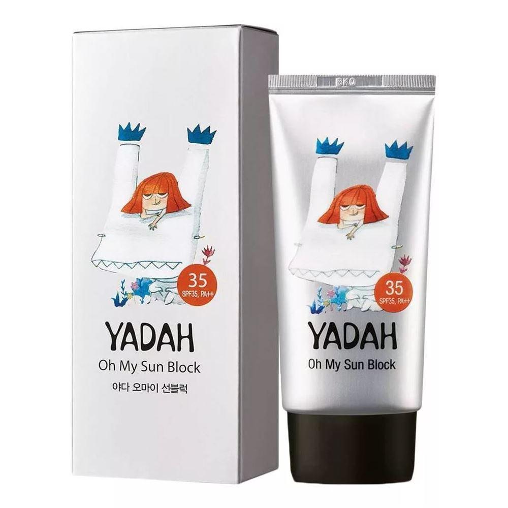 Крем Yadah Oh My Sun Block SPF35 PA++ 50 мл beautymed солнцезащитный крем spf 30 beautymed 50 мл