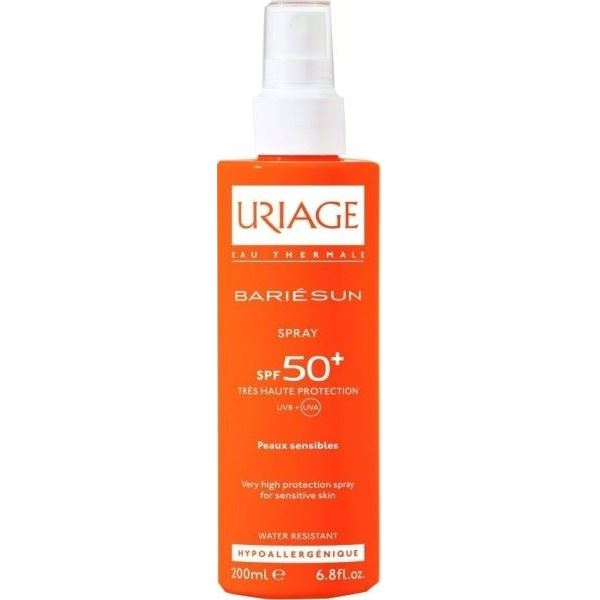 Спрей Uriage Bariesun Spray SPF 50+ 200 мл спрей uriage bariesun refreshing mist after sun 150 мл