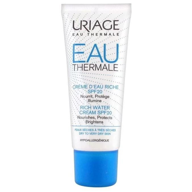 Крем Uriage Eau Thermale Rich Water Cream SPF 20 40 мл крем uriage isoliss cream