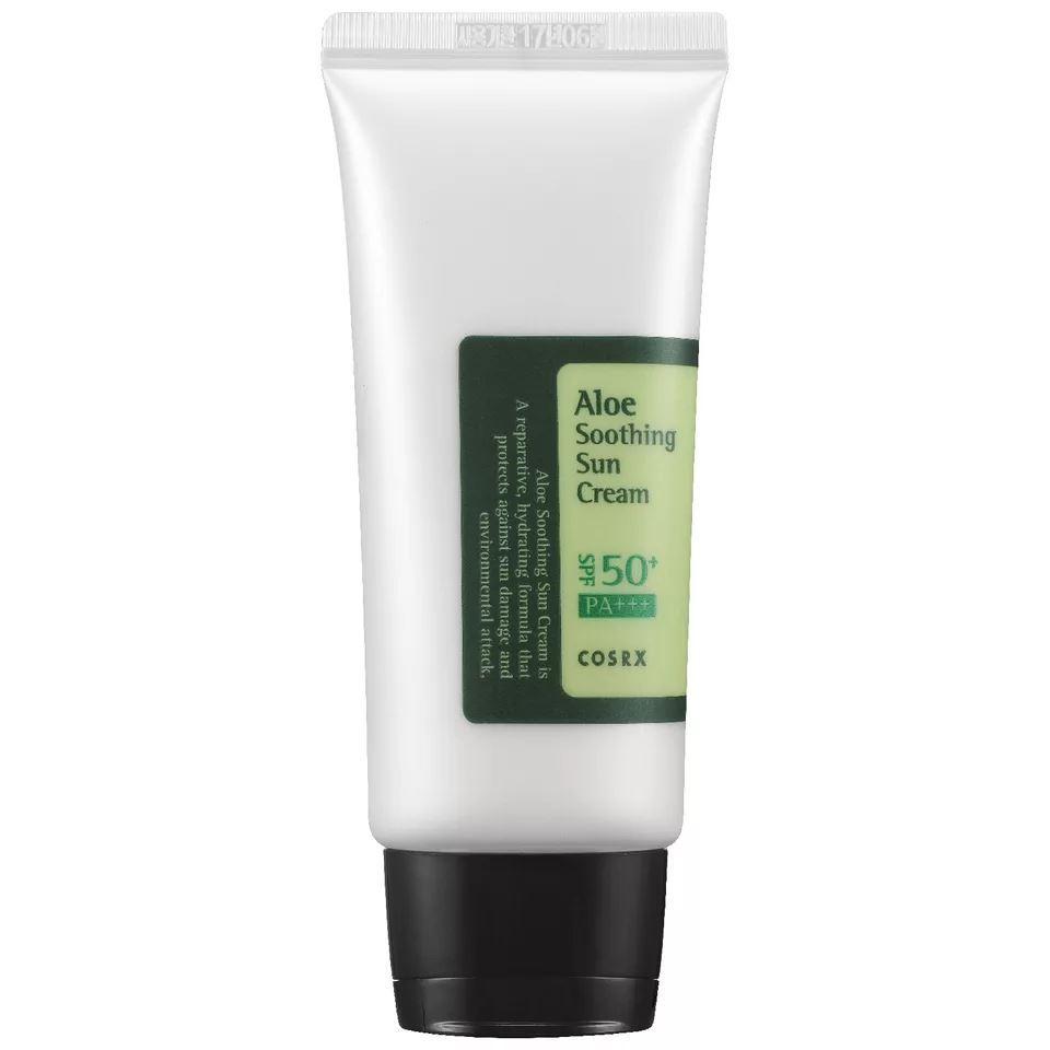 Крем Cosrx Aloe Soothing Sun Cream SPF50+ PA+++ 50 мл beautymed солнцезащитный крем spf 30 beautymed 50 мл