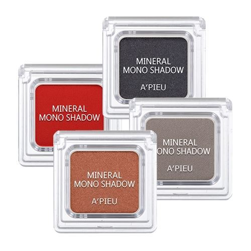 Тени для век A Pieu Mineral Mono Shadow (Shimmer_BR04) la biosthetique компактные тени для век magic shadow mono 2 5 г 2 оттенка 2 5 г 34 olive green