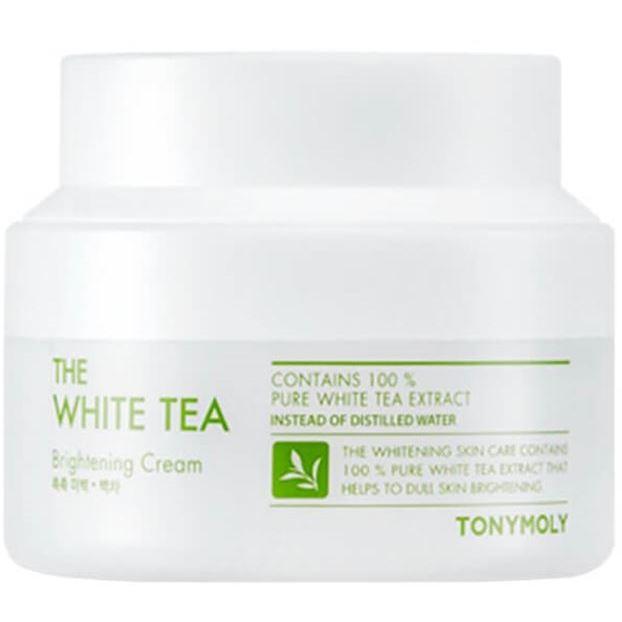 Крем Tony Moly The White Tea Brightening Cream 60 мл holika holika крем осветляющий для лица прайм йос вайт снэил prime youth white snail tone up cream 50 мл