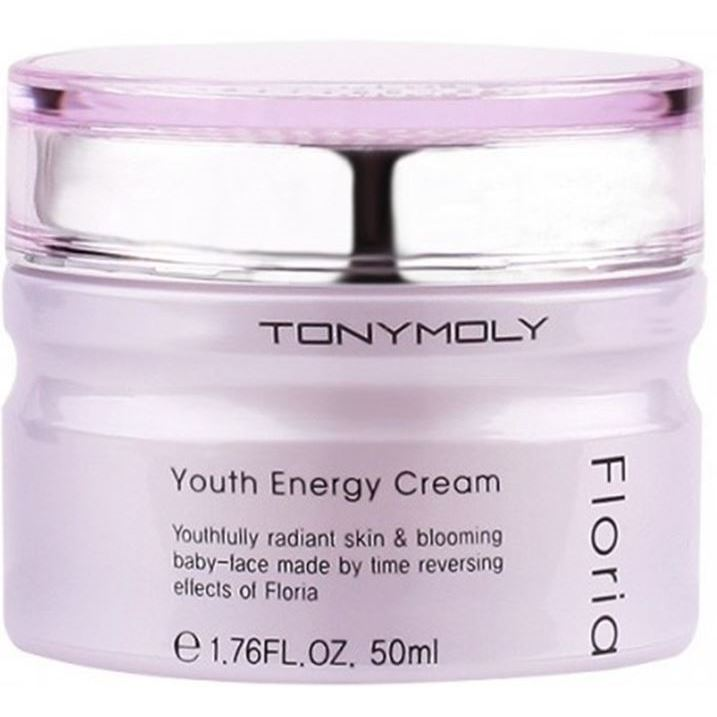 Крем Tony Moly Floria Youth Energy Cream 50 мл спонж tony moly water latex free sponge 1 шт