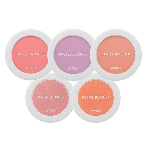 Румяна A Pieu Pastel Blusher  (PK04) missha румяна компактные the style defining blusher pk03 misty rose