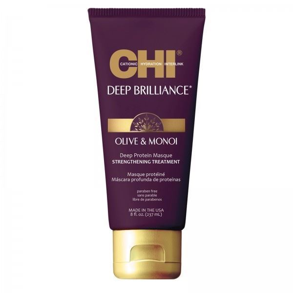 Маска CHI Olive & Monoi Deep Protein Masque Strengthening Treatment 237 мл маска payot pâte grise masque charbon объем 50 мл
