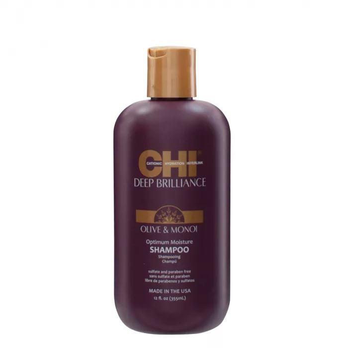Шампунь CHI Olive & Monoi Optimum Moisture Shampoo 355 мл chi шампунь выпрямляющий chi королевский 355 мл