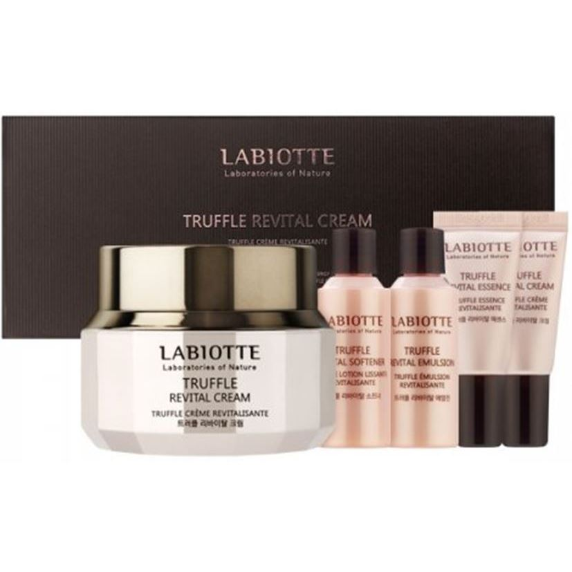 Набор Labiotte Truffle Revital Cream Set (Набор: тонер, 20 мл + эмульсия, 20 мл + крем, 50 мл + эссенция, 5 мл + крем, 5 мл) crystal lux светильник подвесной crystal lux fontain sp6