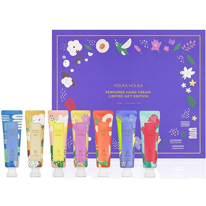 Набор Holika Holika Perfumed Hand Cream (Набор: 30 мл х 7 шт (лимитированный выпуск)) нolika holika крем для рук gudetama щербет 30 мл