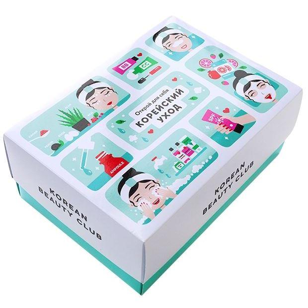 Набор It s Skin Korean Care Box Set Big (Набор: крем, 50 мл + гель, 150 мл + сыворотка, 30 мл + маска, 2 х 20 г) набор the saem cell renew bio skin care special 3 set набор тонер 150 мл эмульсия 150 мл крем д лица 60 мл крем д век 30 мл массажер