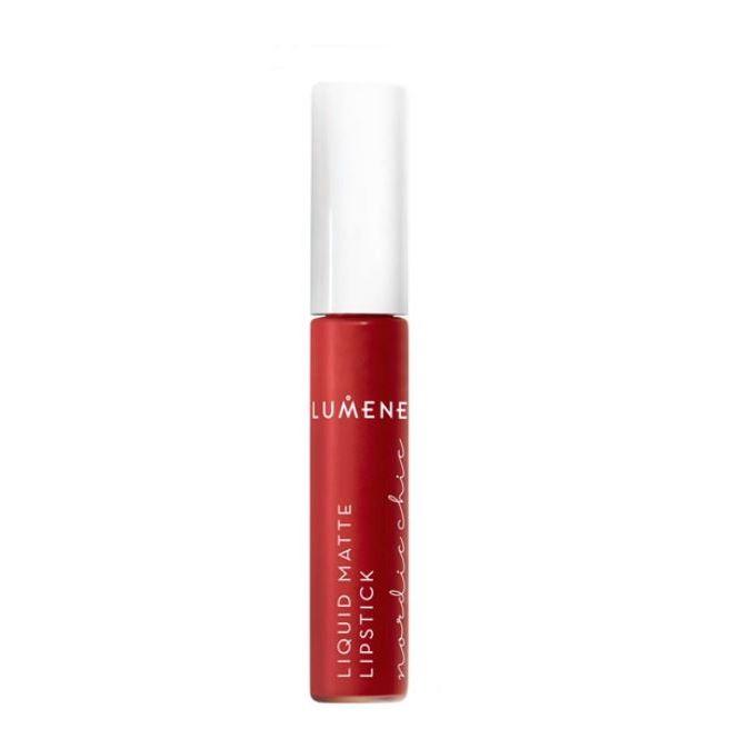 Помада Lumene Nordic Chic Liquid Matte Lipstick  (5) помады isadora помада для губ жидкая матовая ultra matt liquid lipstick 15 7мл