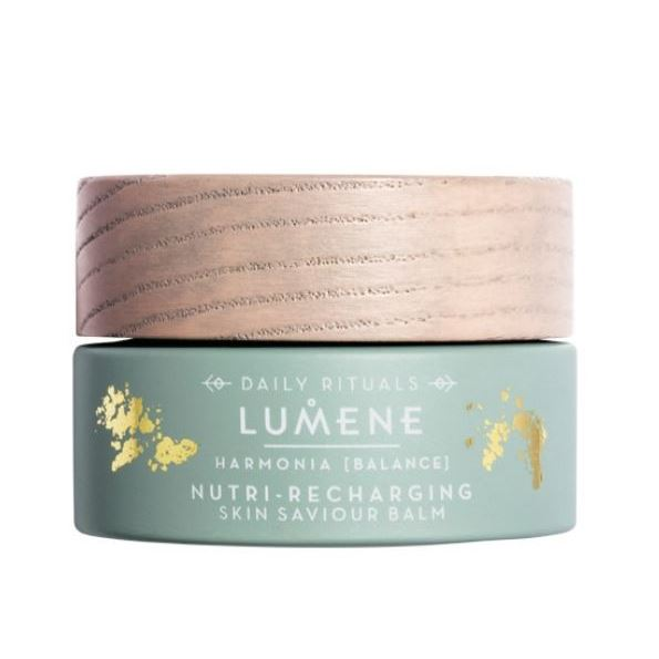 Бальзам Lumene Harmonia Nutri-Recharging Skin Saviour Balm 30 мл крем lumene harmonia nutri recharging intense moisturizer объем 50 мл