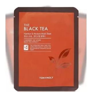 Маска Tony Moly The Black Tea Mask Set 5 Sheet  (5 шт) tony moly маска для лица pureness 100 green tea mask sheet