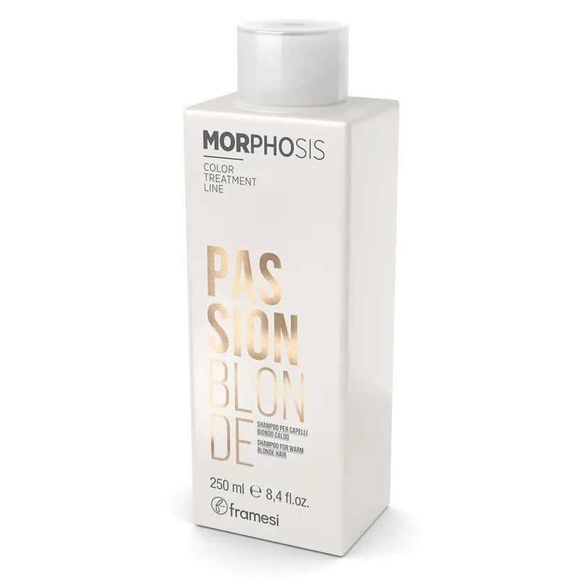 Шампунь Framesi Passion Blonde Shampoo 250 мл shunga passion 250 мл массажное масло яблоко