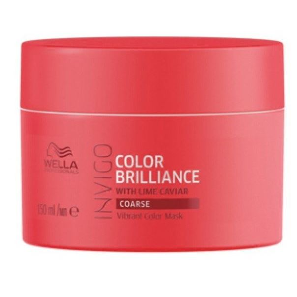 Маска Wella Professionals Vibrant Color Mask Coarse Hair 500 мл wella питательная крем маска для жестких волос wella enrich moisturising treatment for coarse hair 81267023 500 мл