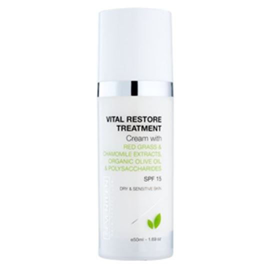Крем Seventeen Vital Restore Treatment Cream SPF 15 50 мл nourish набор миниатюр для сухой кожей лица nourish protect mini kit 50 мл 50 мл 15 мл 15 мл