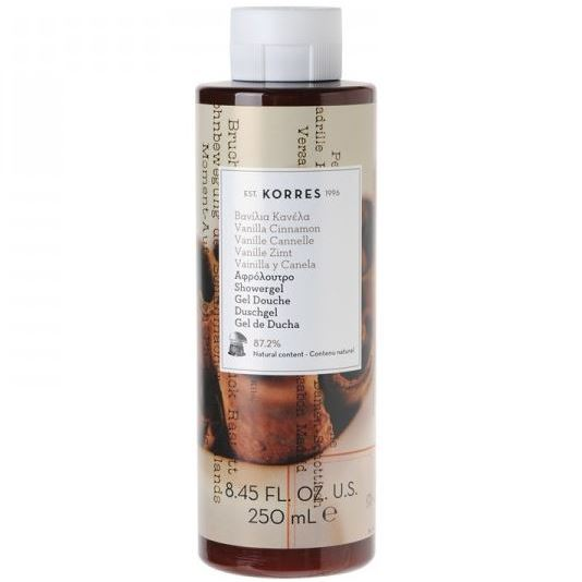 Гель для душа Korres Shower Gel Vanilla Cinnamon 250 мл гель для душа korres shower gel almond