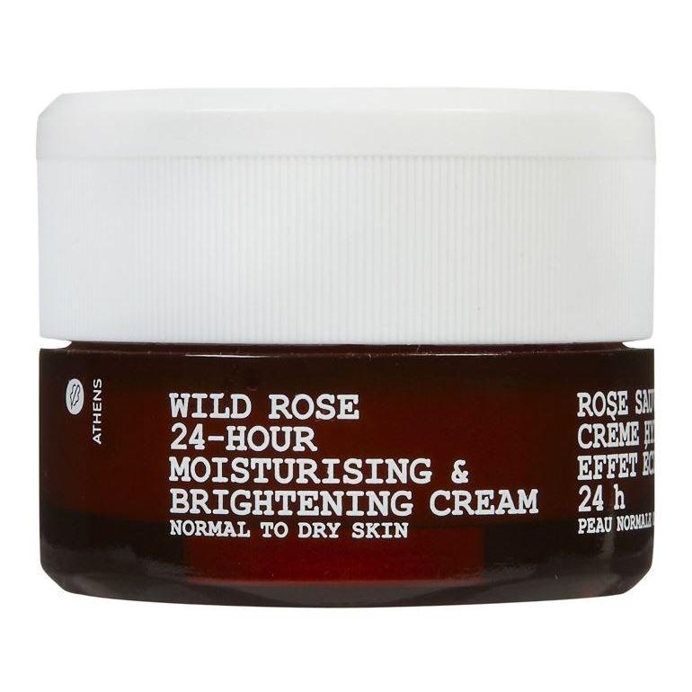Крем Korres Wild Rose 24-Hour Moisturising Cream SPF 6 40 мл скраб korres wild rose exfoliating cleanser brightening объем 150 мл