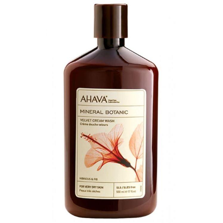 Ahava Бархатистое Крем-мыло для душа гибискус/инжир ahava mud мыло на основе грязи мертвого моря 100 г