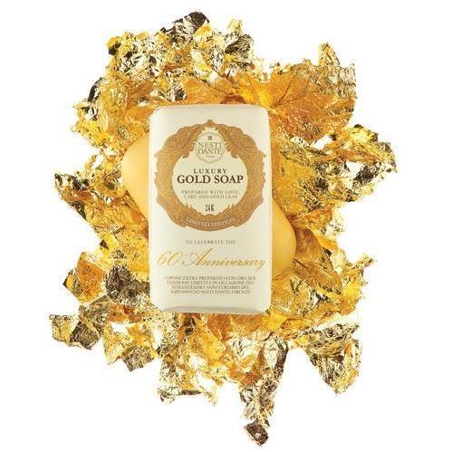 Мыло Nesti Dante Luxury Gold Soap (Мыло с золотом 24 карата, 250 гр) nesti dante мыло дрок dei colli fiorentini 250 гр мыло дрок dei colli fiorentini 250 гр 250 гр