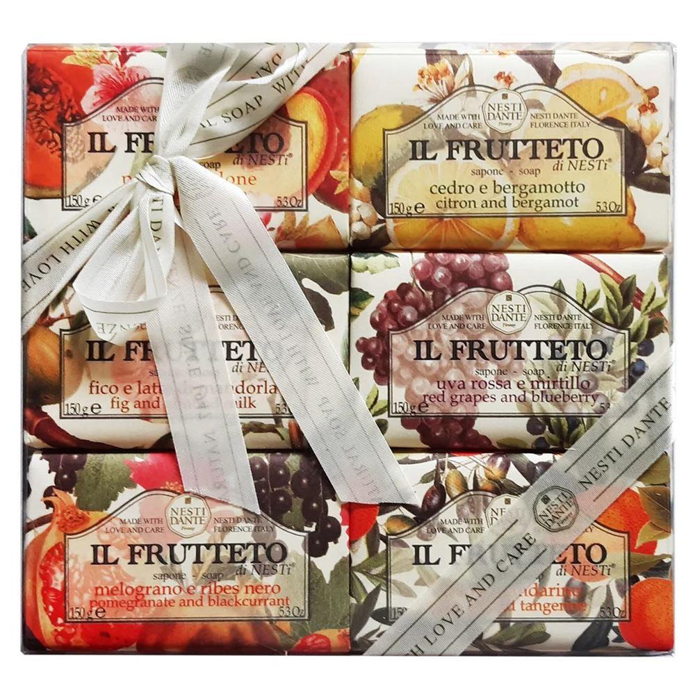 Мыло Nesti Dante IL Frutteto (Черешня и красные ягоды, 250 г)