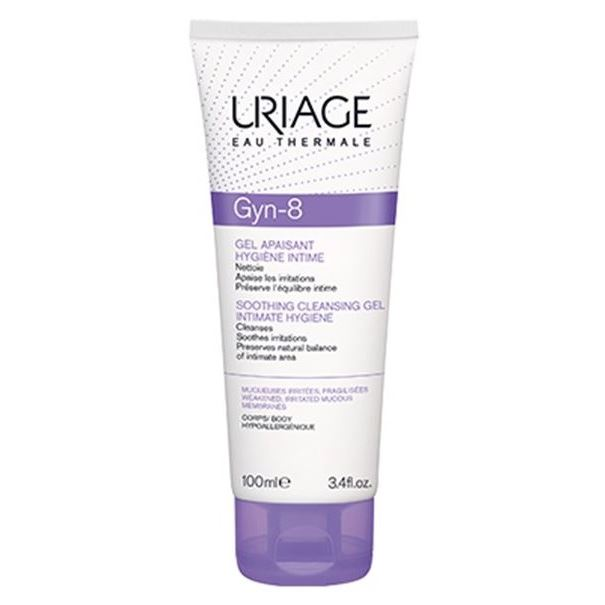 Гель Uriage GYN-8 Soothing Cleansing Gel Intimate Hygiene 100 мл гель uriage extra rich dermatological gel 1000 мл