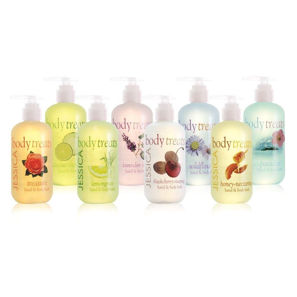 Гель для душа Jessica Body Treats Hand & Body Bath 251 мл жидкость humble unicorn treats 120 мл 3 мг