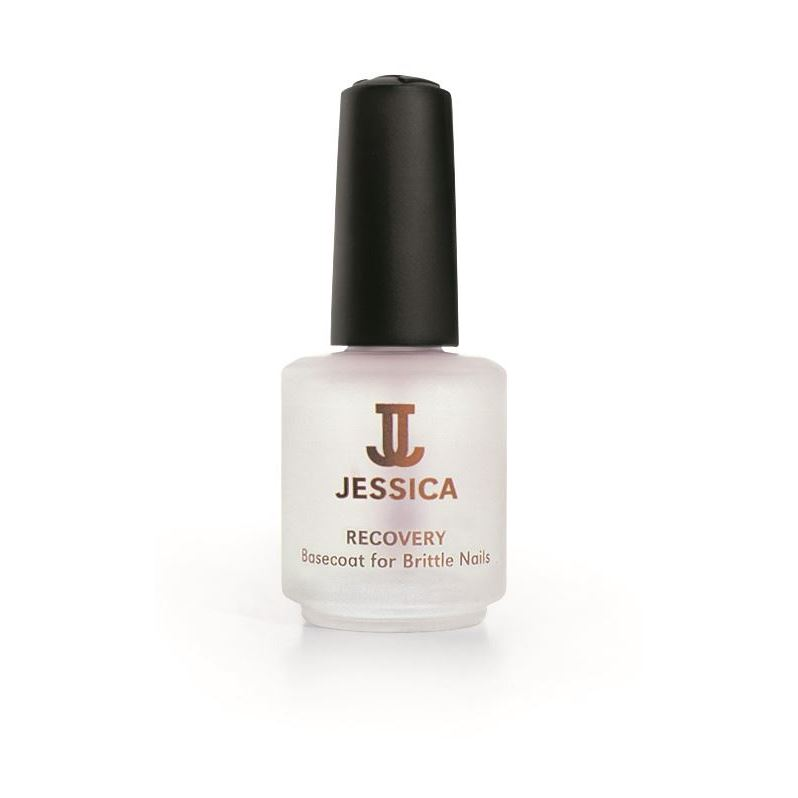 Лак Jessica Base Coat Recovery 7.4 мл jessica лак для ногтей starry eyed – pale pink jessica custom nail colour upc 647 14 8 мл