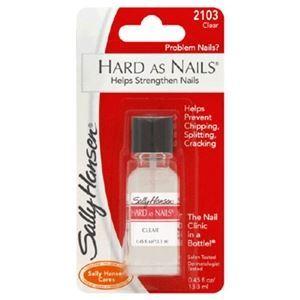 Sally Hansen Hard As Nails (Clear)